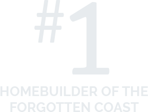 #1 Homebuilder of the Forgotten Coast